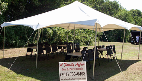 Event Rental | A Family Affair Tent & Party Rentals | Newark, DE | (302) 733-0408